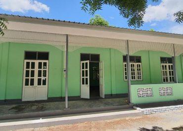 Neubau einer Schule in Magyi Inn